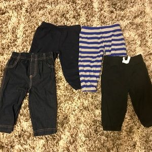 Boys 3-6m pants - set of 4